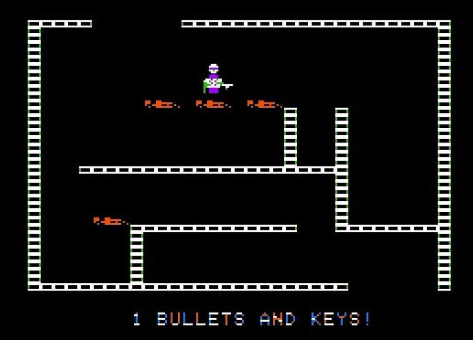 Castle Wolfenstein for Apple II