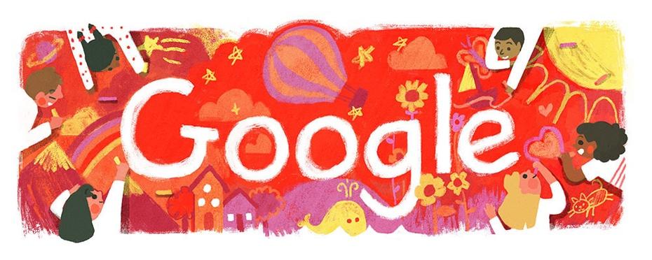 Google Doodle Kindertag 2017 in Thailand — © google.com