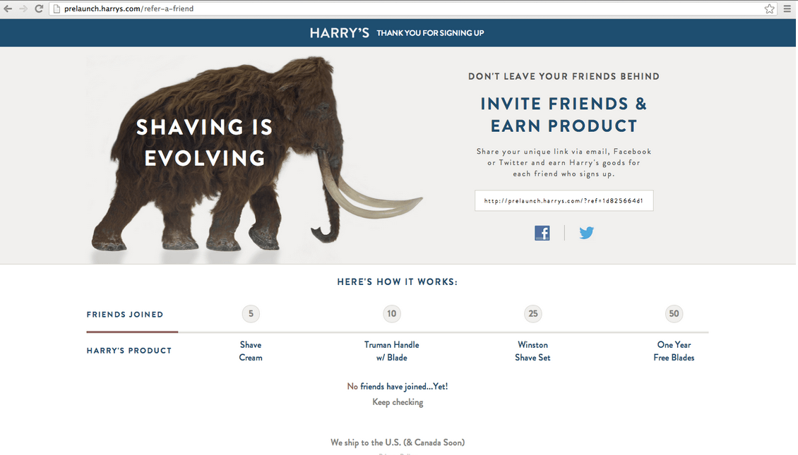 harrys_launch_social_referrals_rewards_page