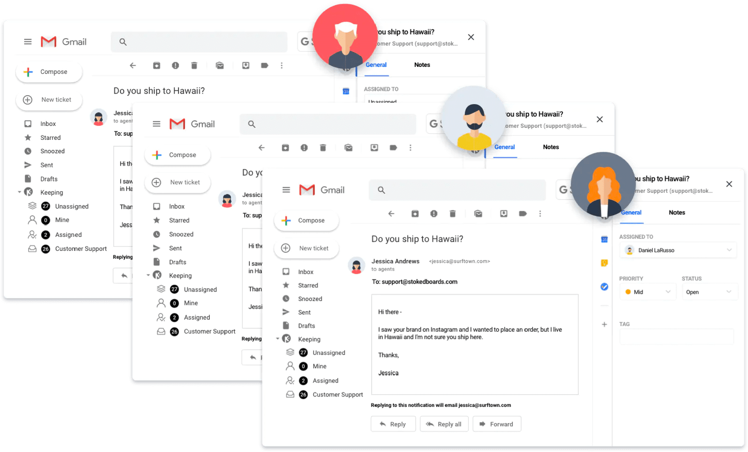 Keeping is a Google Groups alternative