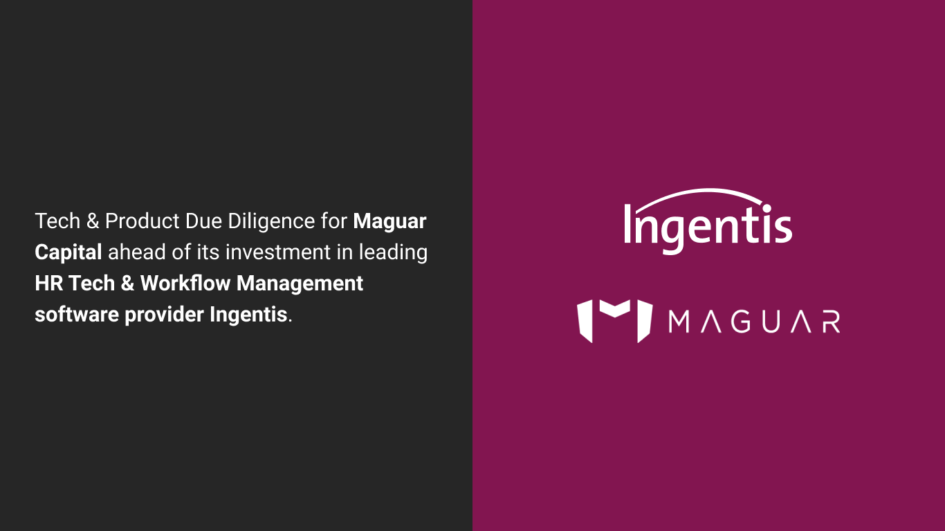 Tech & Product DD | Acquisition | Code & Co. advises Maguar Capital on Ingentis Softwareentwicklung GmbH