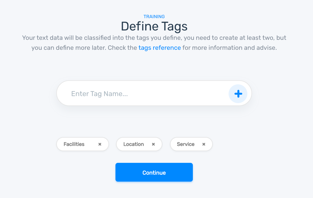 define tags