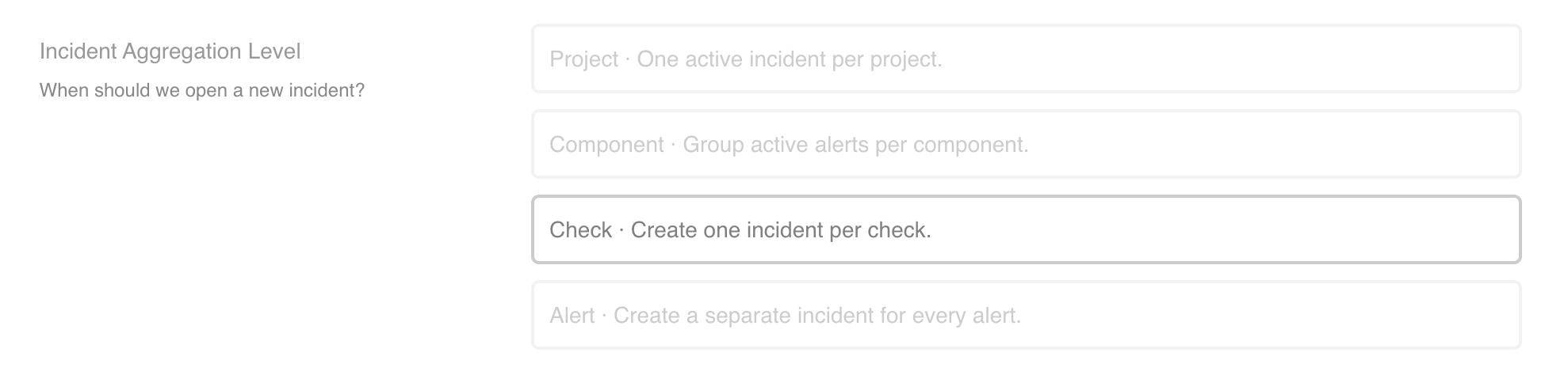 Incident Aggregation]