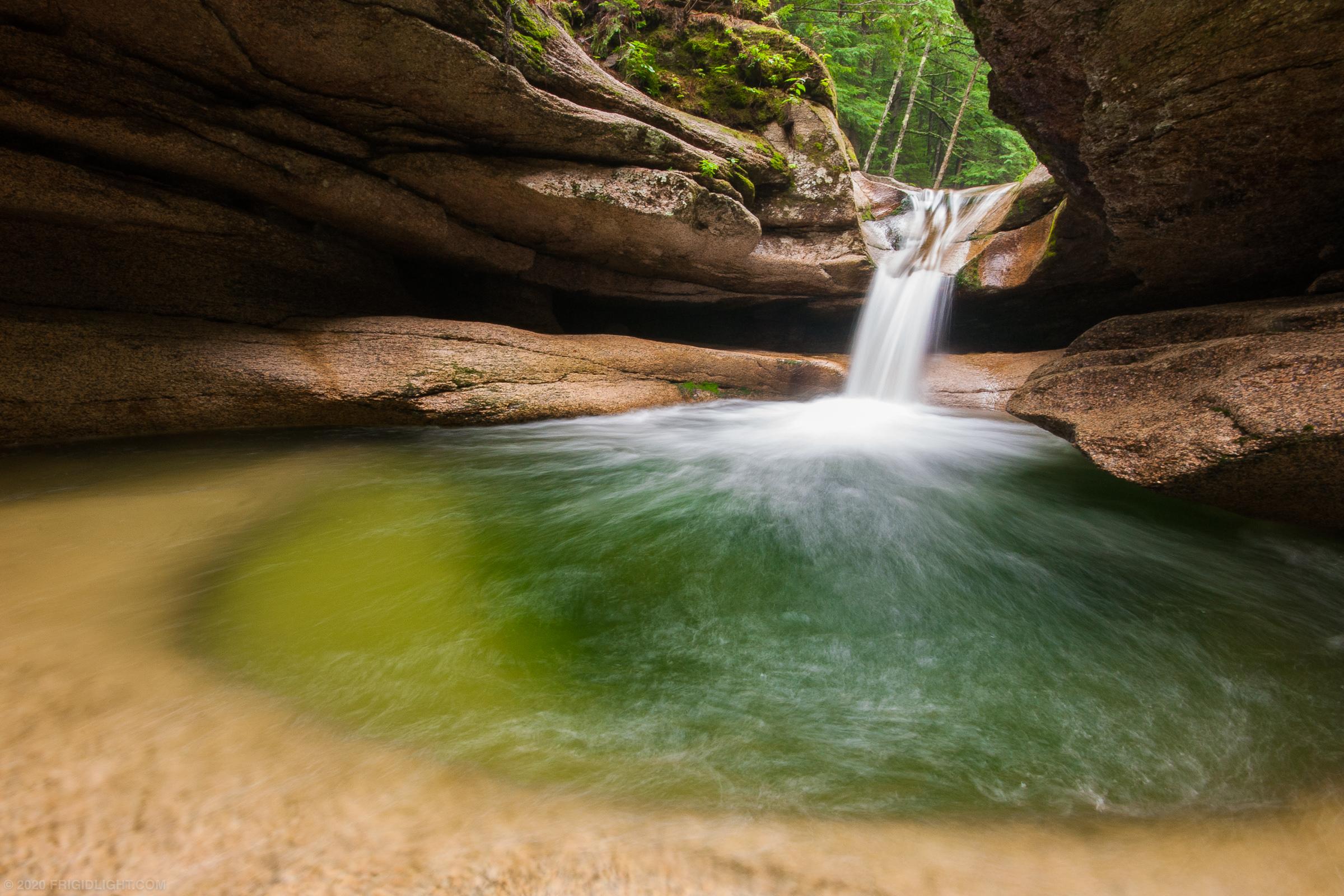 Sabbaday Falls Cavern