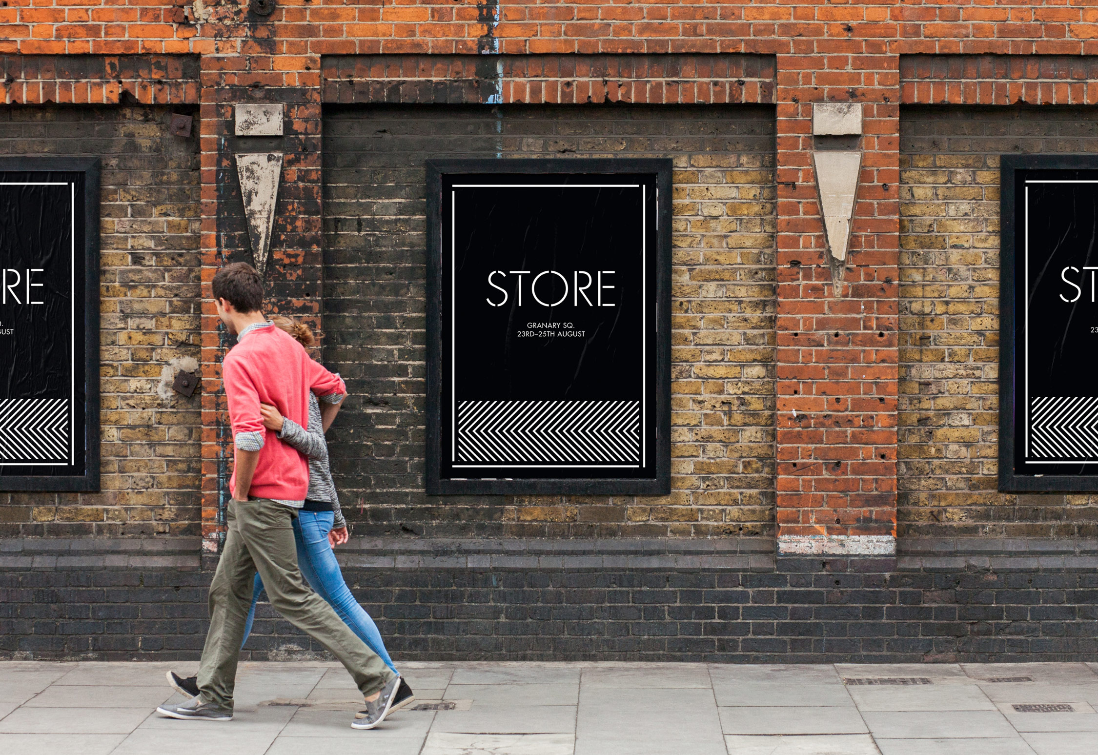 Store brand identity by She Was Only