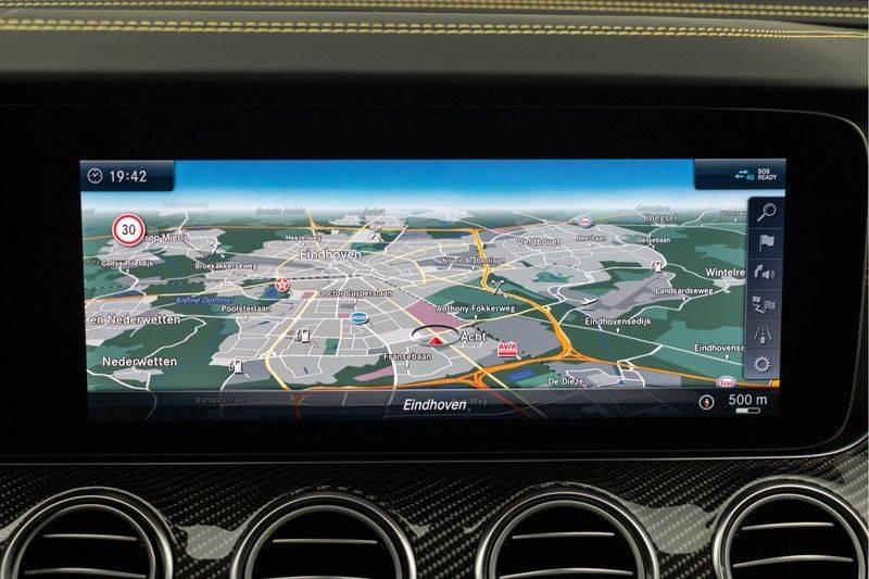 "Mercedes-Benz E-Klasse E63s AMG EDITION 1 4Matic 612pk (MAGNO MAT) Panoramadak Distronic Nightpakket Schaalstoelen Burmester Carbon ComandOnline Keyless 20"" Parktronic Pdc afbeelding 24"
