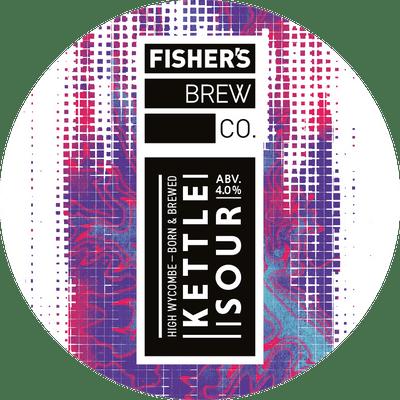 Fisher's Kettle Sour keg badge