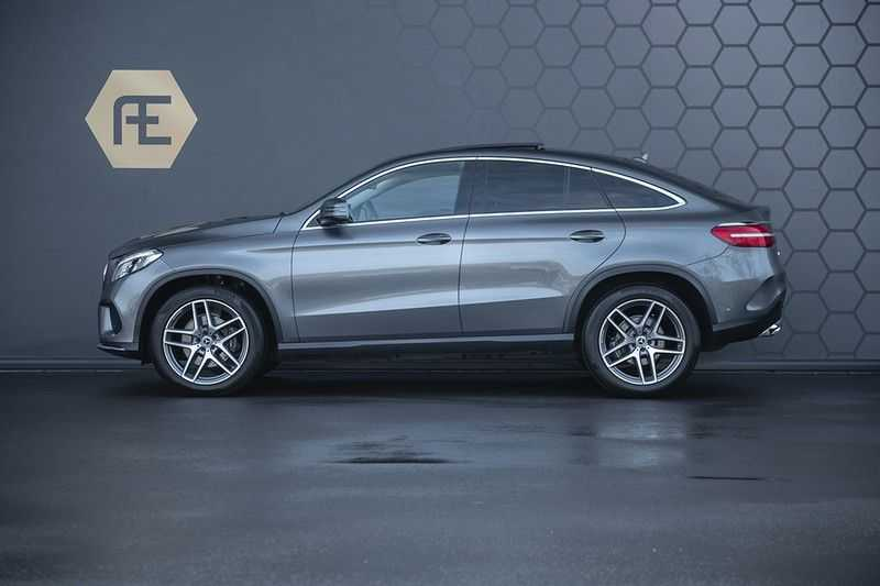 Mercedes-Benz GLE Coupé 350d 4-MATIC AMG BTW + Trekhaak + Panoramadak afbeelding 5