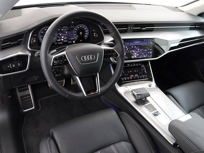 Audi A7 Sportback 55 TFSI e quattro Competition 376 PK   21'' velgen zwart   Assistentiepakket Tour & City   360* Camera   Head-Up   Matrix LED   Adapt. Demping   Comfortstoelen   Leder afbeelding 2