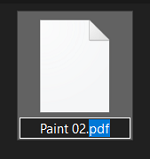 Change the file extension
