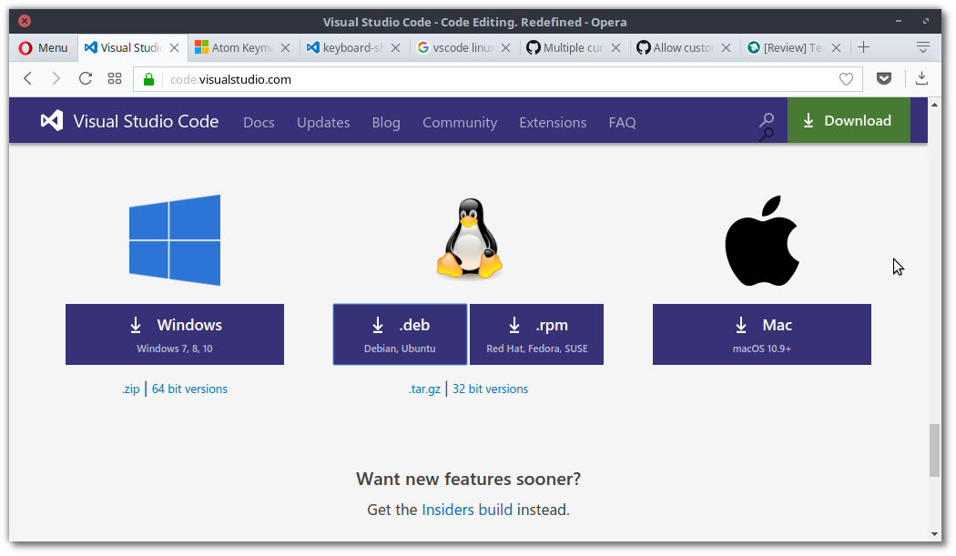 Download Visual Code Studio