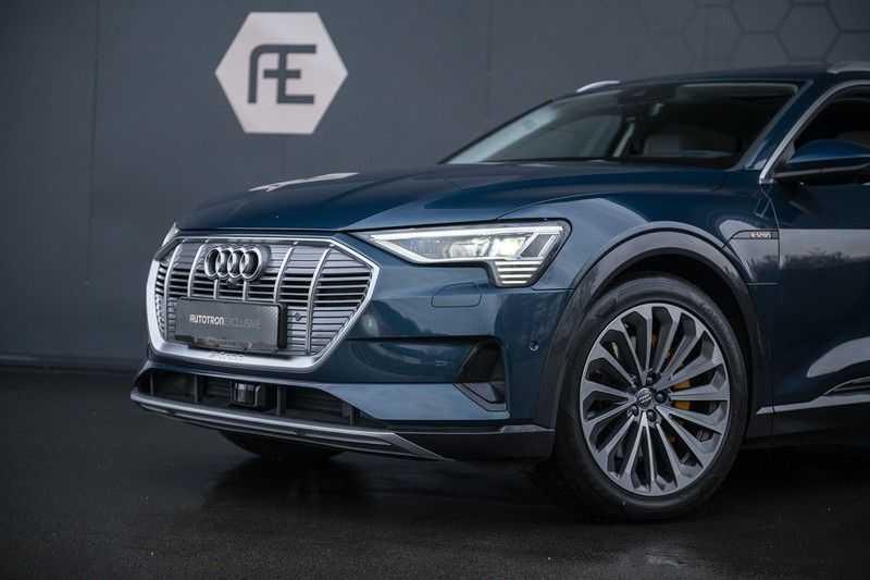 Audi E-tron 55 quattro Advanced Pro Line S NOVEMBER 2018!! € 146,- netto bijtelling pm! 4% bijtelling!! Massage + Head-up + Stoelkoeling afbeelding 2