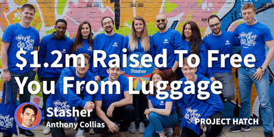 featured image thumbnail for post $1.2m Raised To Free You From Your Luggage