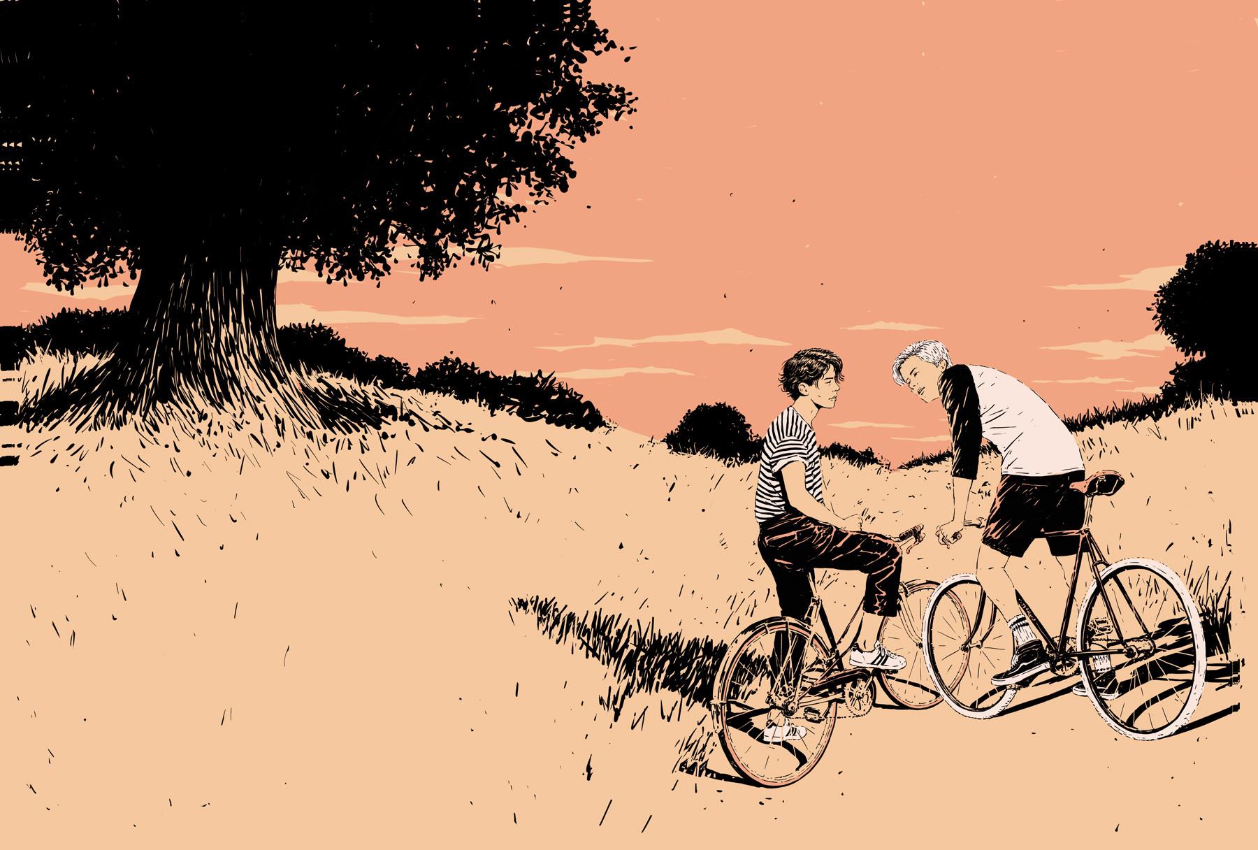 Иллюстрация собложки книги «Тот самый». Художник: Adams Carvalho