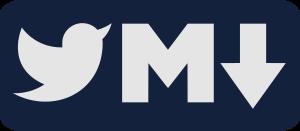 Tweet to Markdown logo