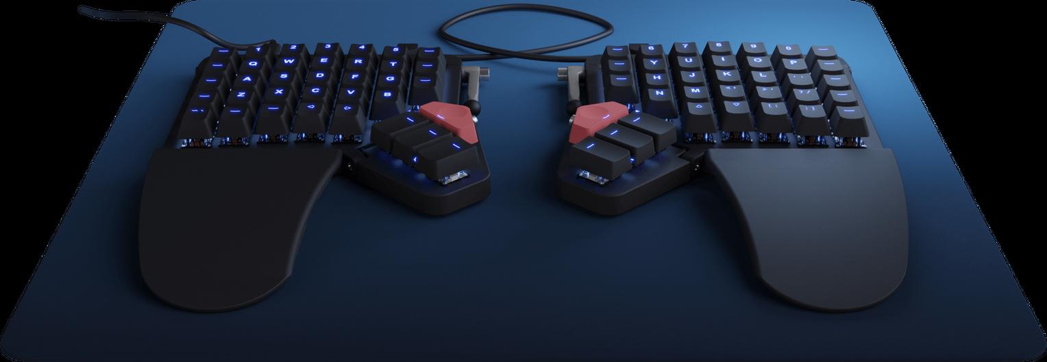 Moonlander Mark I Keyboard Black Color