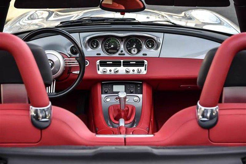 BMW Z8 ROADSTER 5.0-V8 ZWART/ROOD LEDER afbeelding 9