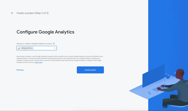 Configuring Google Analytics