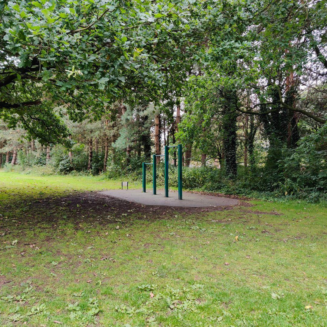 Horsforth Hall Park outside exercise