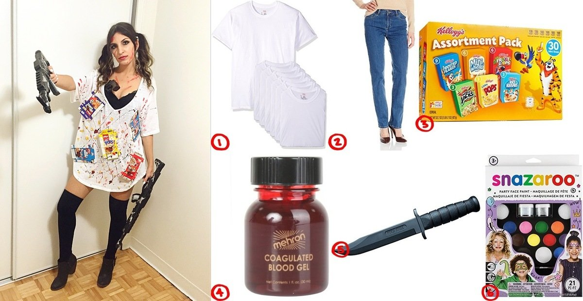 Dress like funny cereal killer costume for cosplay halloween how to make cereal killer halloween costume ideas cereal killer cosplay costume guide ccuart Gallery