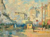 Monet's Exterior of the Saint-Lazare station was sold for $32.9 million in mid-2018