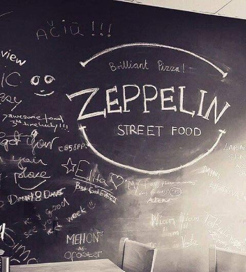 Zeppelin Street Food Leeds