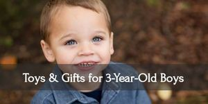 Make your three year old boy smile with these awesome toys and gift ideas!