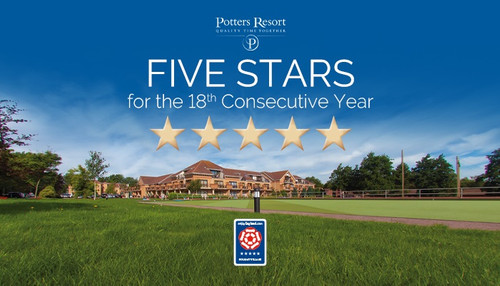 Potters retains five star rating for 18 consecutive years