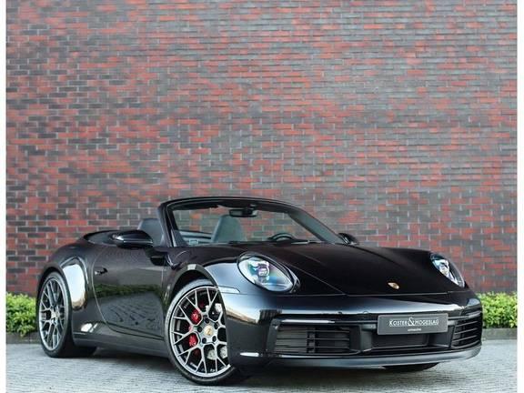 Porsche 911 Cabrio 3.0 Carrera 4S *Stoelkoeling*Chrono*Sportuitlaat*