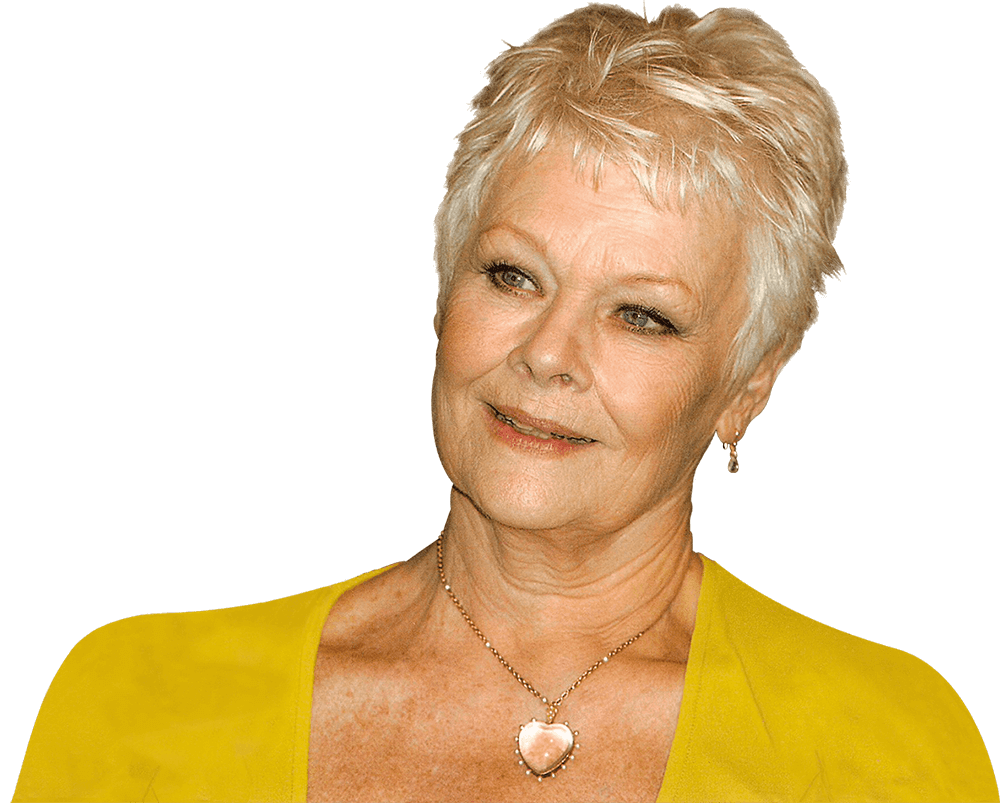 A headshot of Judi Dench, the President of Mountview