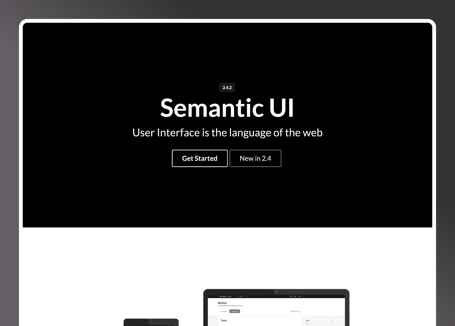 Semantic UI Docs Gatsby- cover