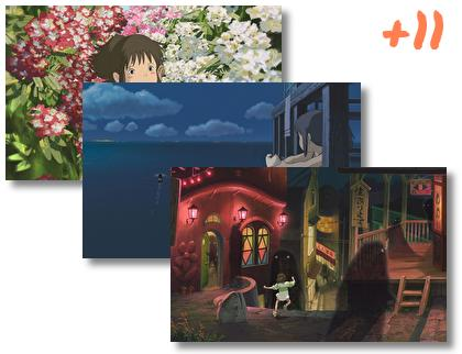 Spirited Away theme pack