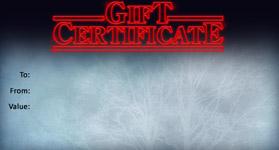 Gift Certificate Template Halloween 04