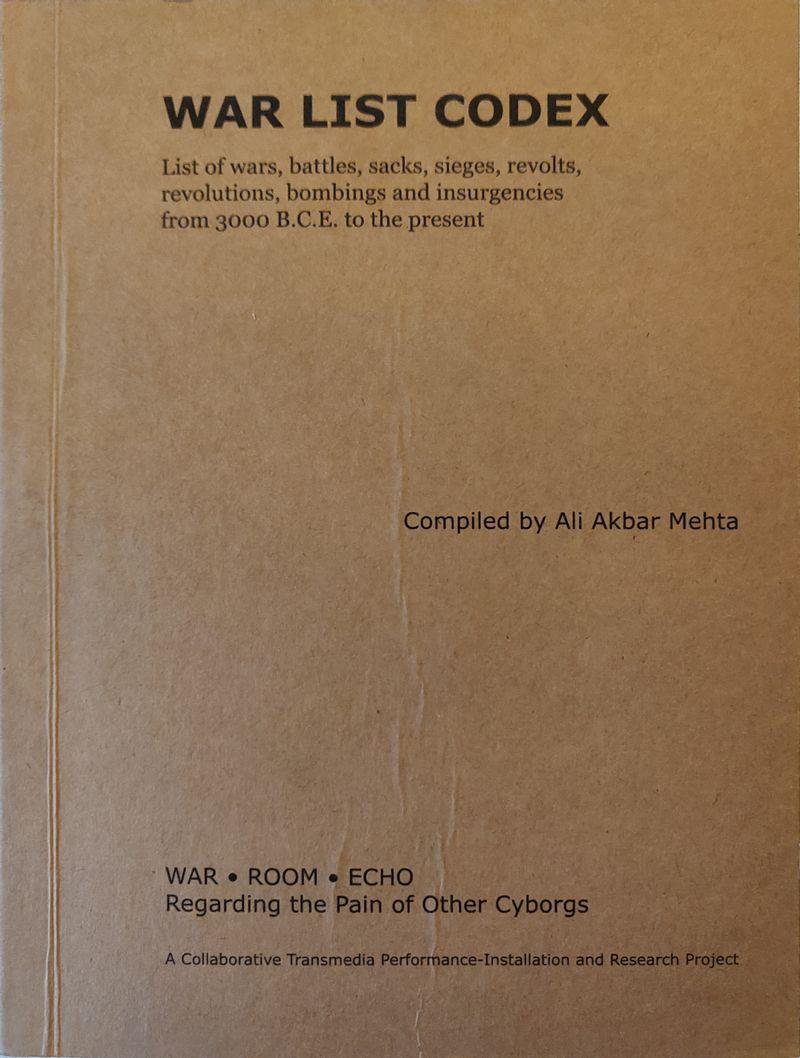 wre ~ War List CODEX