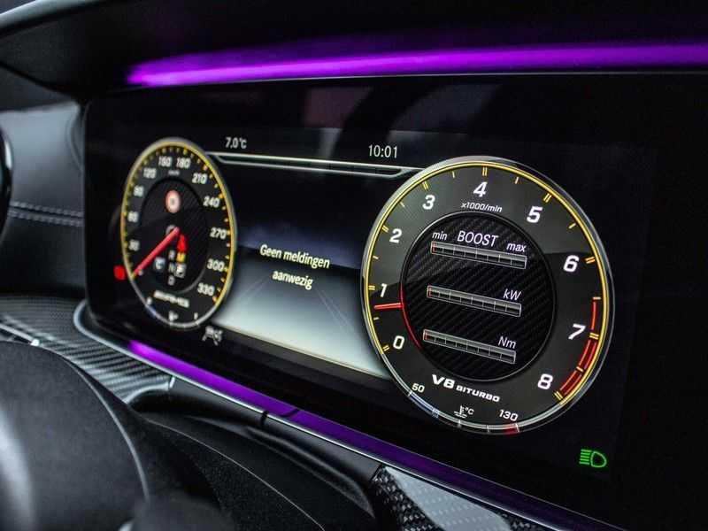 Mercedes-Benz E63 S E-klasse Burmester AMG-Performance-stoelen 63 S AMG 4Matic Premium Plus afbeelding 15