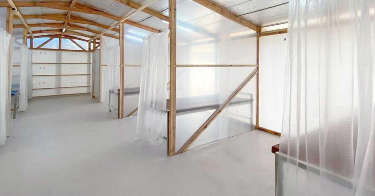 Temporary Quarantine Facility Interior 1