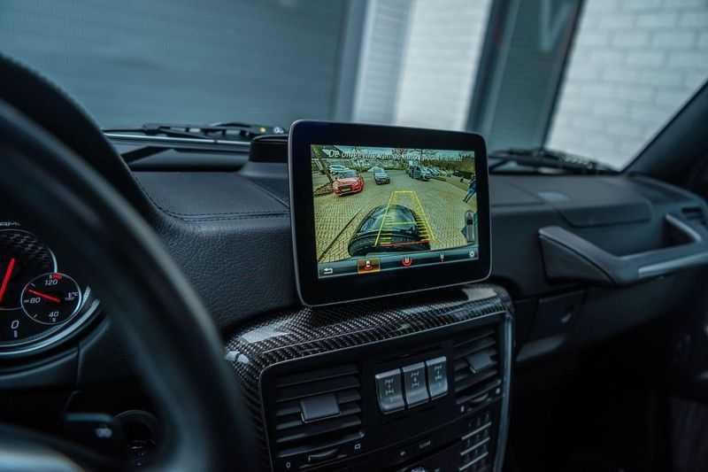 Mercedes-Benz G-Klasse 63 AMG, 571 PK, Full/Black Optiek, Schuif/-Kanteldak, TV, Harman/Kardon, Designo leder, Distronic, 57DKM!!! afbeelding 13