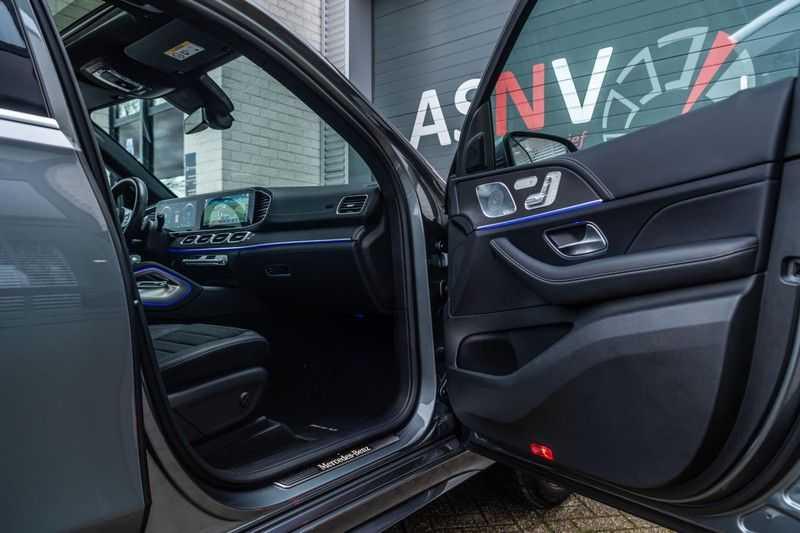 Mercedes-Benz GLE 350 de 4MATIC Premium Plus, 320 PK, AMG/In/Exterieur, Pano/Dak, Massage, Standkachel, Head/Up, BTW, 2020! afbeelding 8