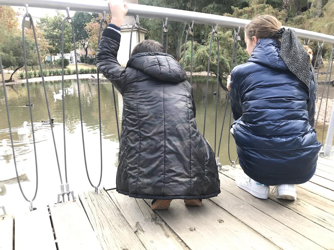 estanque jardín de la seda