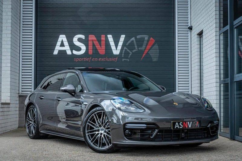 Porsche Panamera Sport Turismo 2.9 4 E-Hybrid, 462 PK, Sportuitlaat, Adapt. Cruise, Surround View, Night/Vision, Pano/Dak, Org. NL afbeelding 1