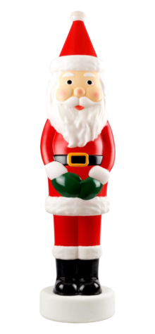 Pencil Style Santa photo