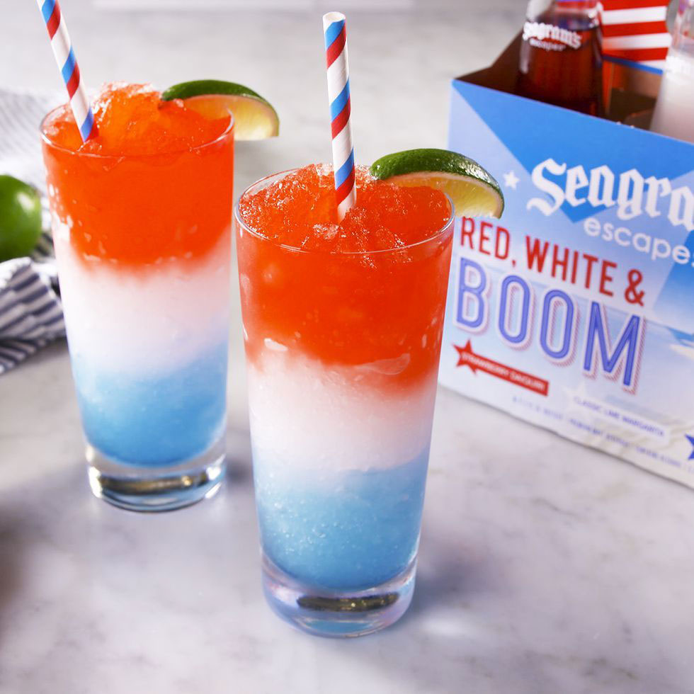 Red, White & Boom Margaritas Photo
