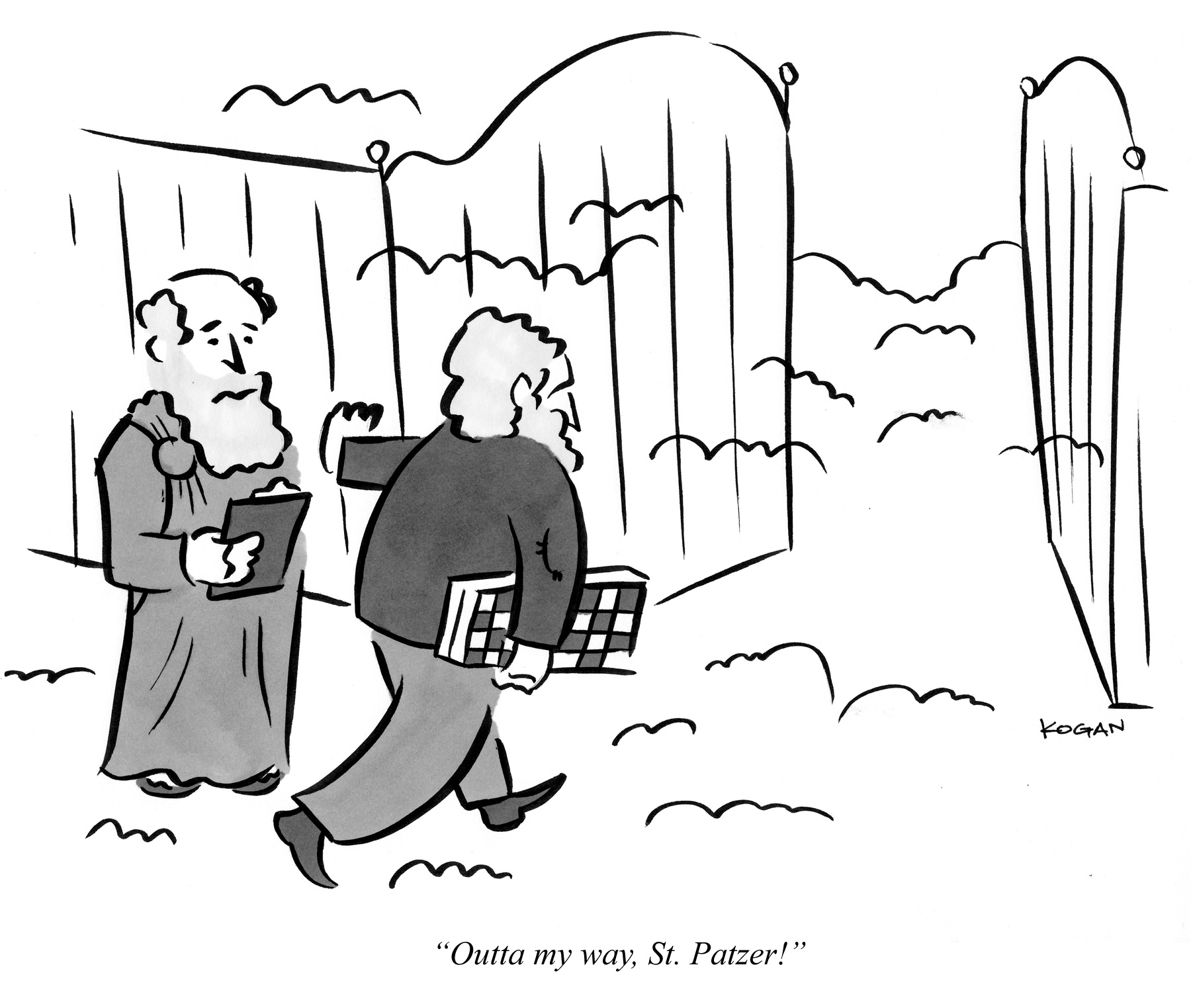 Outta my way, St. Patzer!
