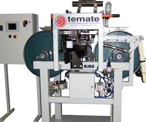 Laminated Metallic Strip Inspection with the temate Pi-GW-small