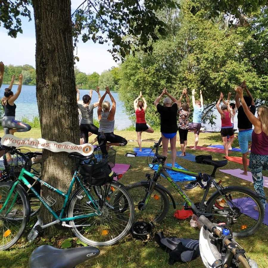 Yoga am Fasaneriesee 2020
