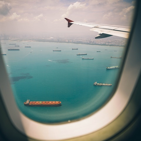 travel window view