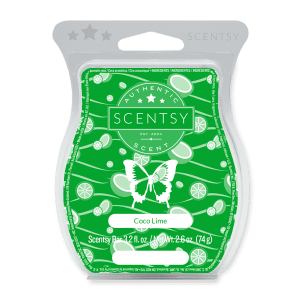 Picture of Coco Lime Scentsy Bar