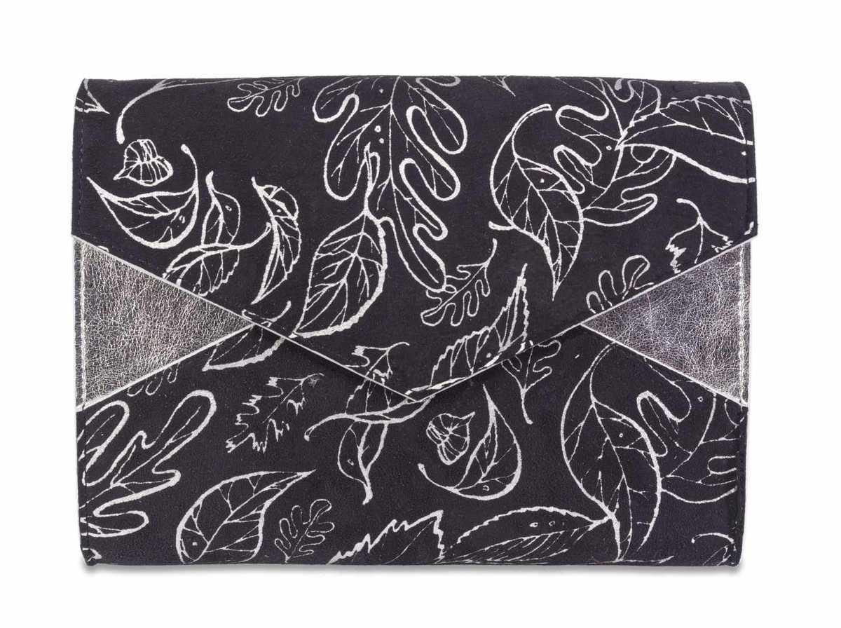 Maia Medium - black and silver