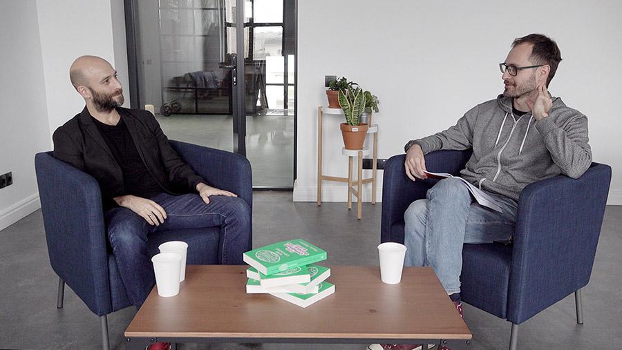 Яша Левин и Алексей Поляринов. Фото: Bookmate Journal