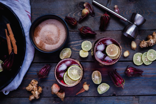 Winter Sorrel (Hibiscus) Margarita